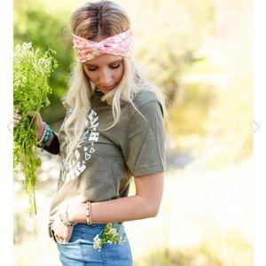 Three Bird Nest Meadow Floral Headband